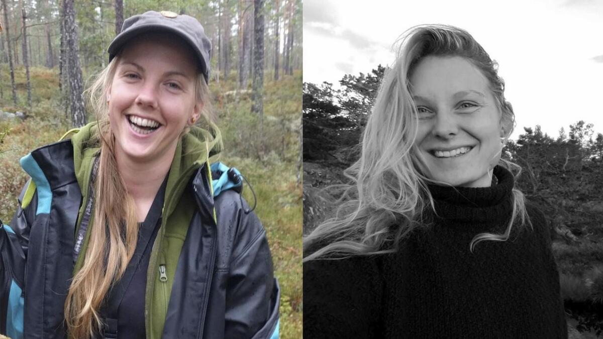 Maren Ueland (28) og Louisa Vesterager Jespersen (24) ble funnet drept.