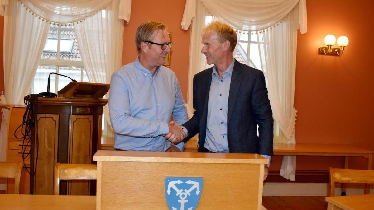 Einar Holmer-Hoven blir ordfører og Geir Svenningsen varaordfører i Lillesand