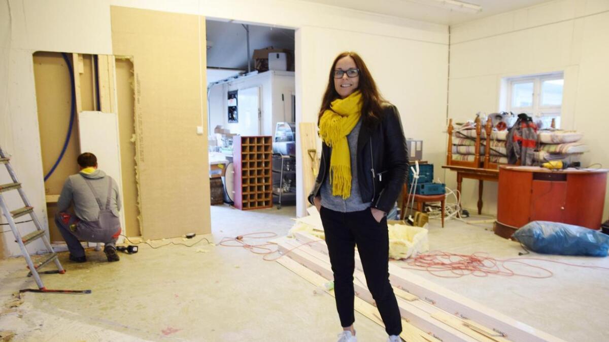 For tiden pågår ombygging av lokalet. Den gamle bryggeri-delen skal tas i bruk som restaurant.