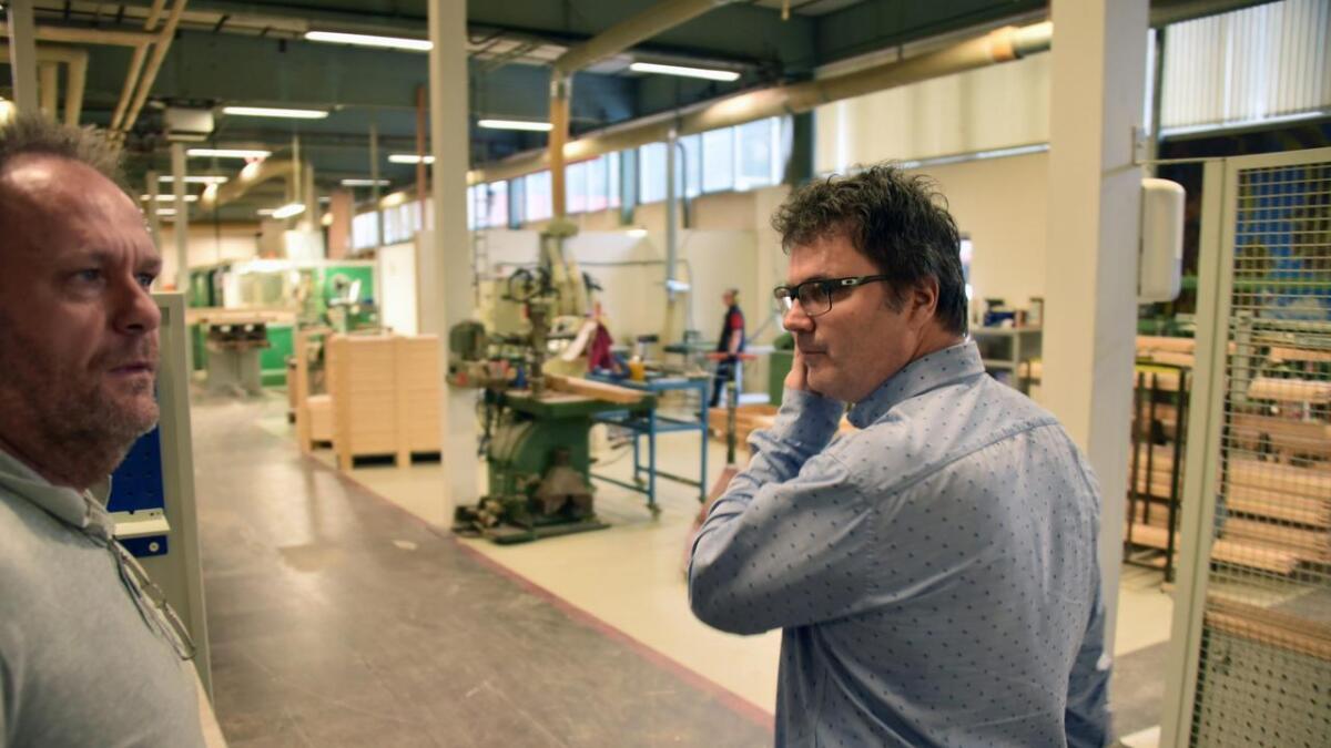 Innkjøringstrøbbel med ny maskinpark fikk store konsekvenser for vindusprodusenten Uldal på Birkeland, forteller administrerende direktør Tore Hansen. Arkiv