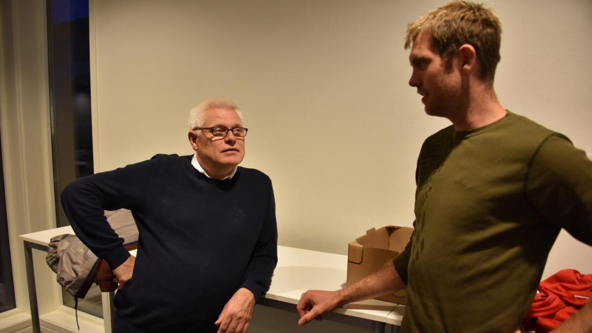Arild Windsland (H) og Jon Inge Holm (H).