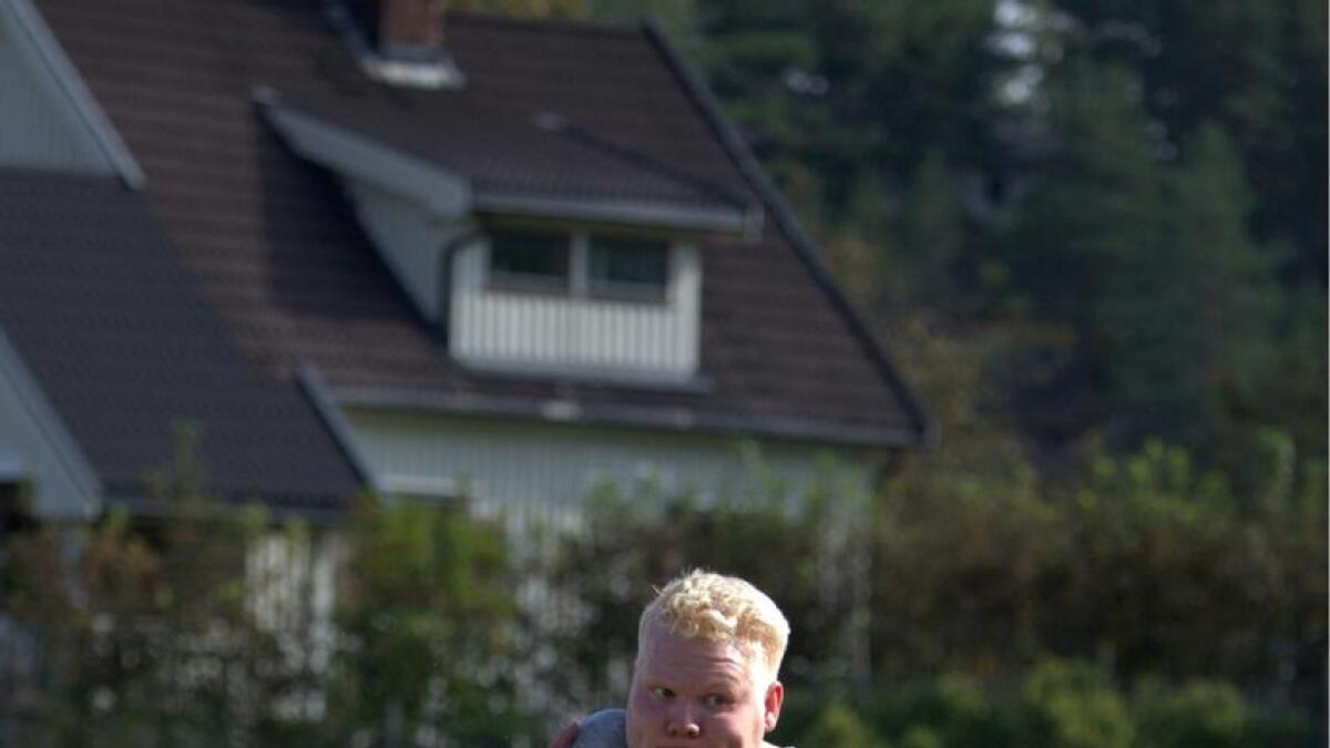Marcus Thomsen nærmar seg VM-kravet på 20,70.