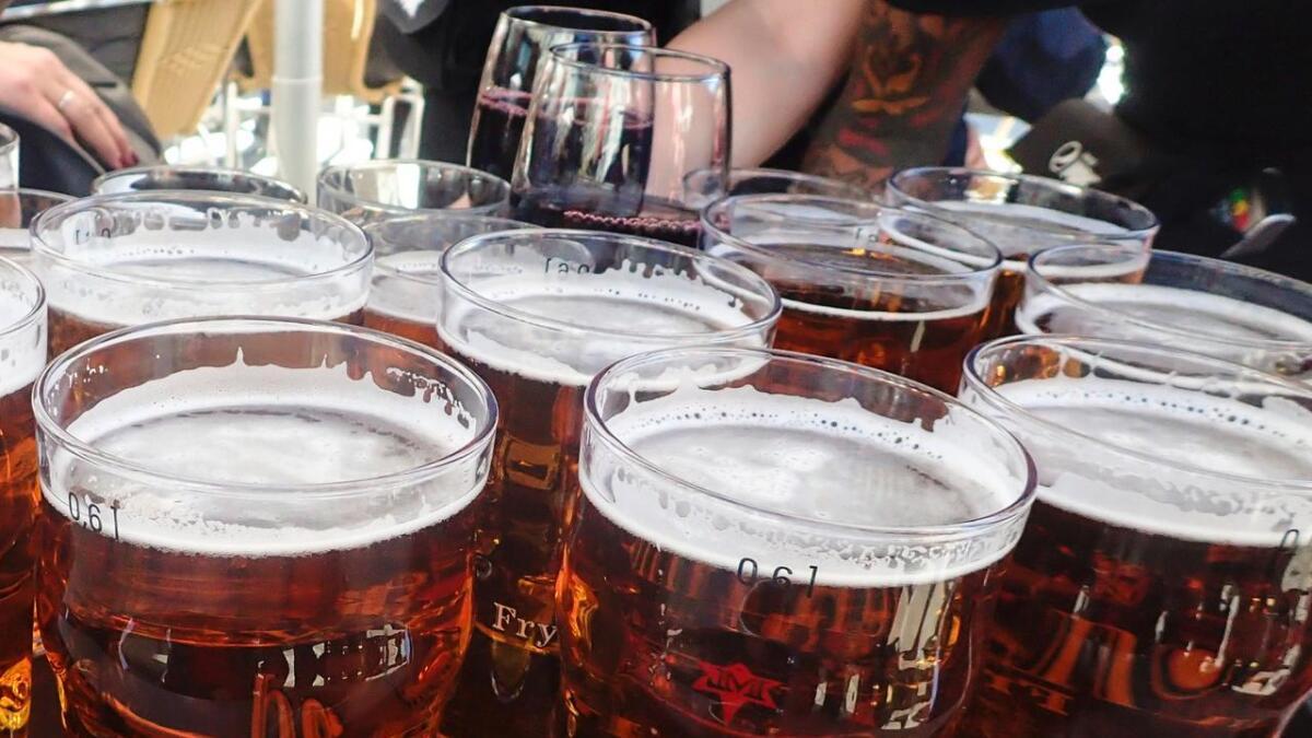 200 liter øl kan havne i det kommunale ledningsnettet.