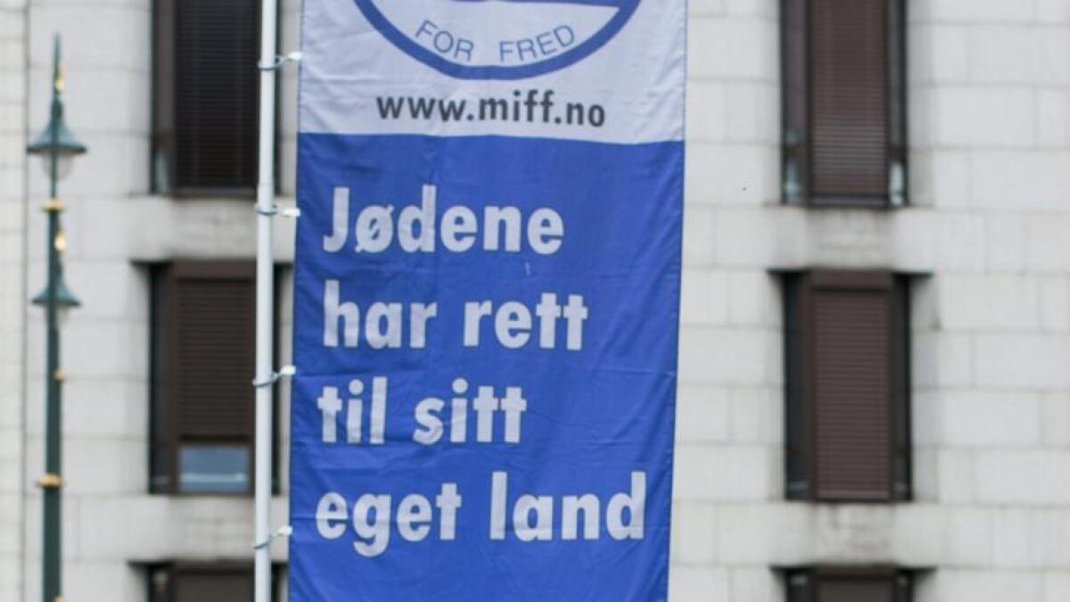 Søndag talte Norheim under en demonstrasjon i Oslo.