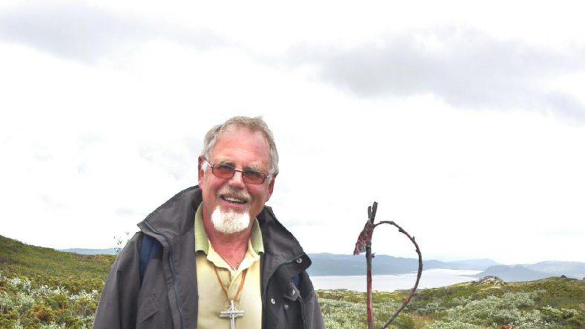 Jan P. Hagberg har vore ein av fleire eldsjeler som har arbeidd for å få til naturkatedralen p¨å Sangefjell.