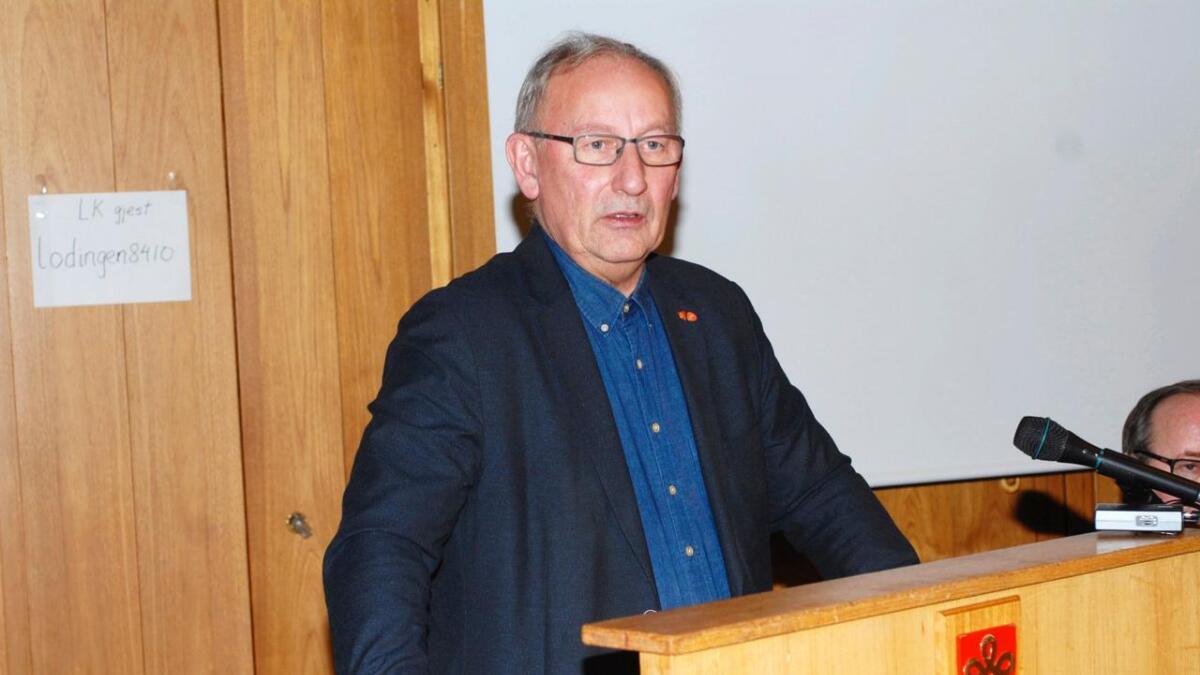 Atle Andersen (Ap) er én av flere politikere som er både utålmodig og bekymret når det gjelder omstillingen innen enhet Helse og omsorg. (Arkiv