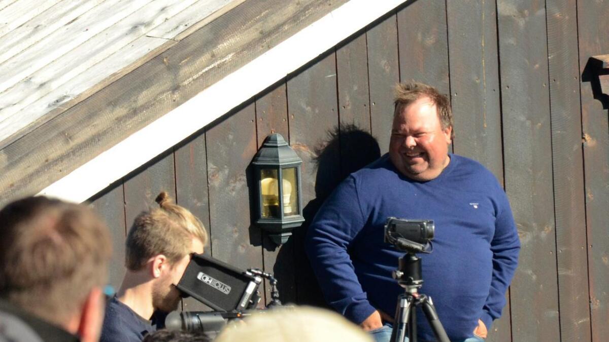 Ole Embriksgård er i sitt ess når han kan invitere folk til fjells på festival.