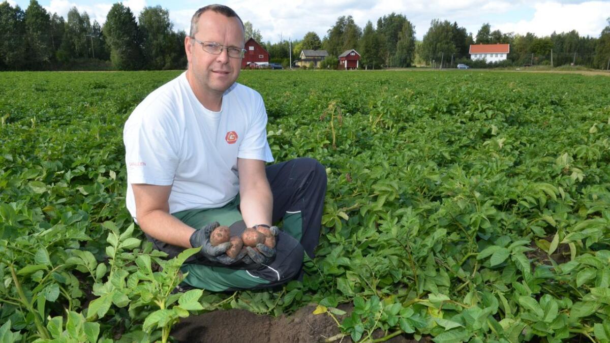 Potetbonde Anders Nordlund skal snakke om mer frukt og grønt og mulighetene i vårt område.