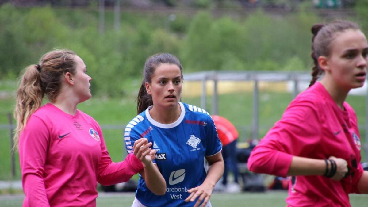 Ingeborg Haga sette inn 2-0 og avgjorde kampen mot Søreide.