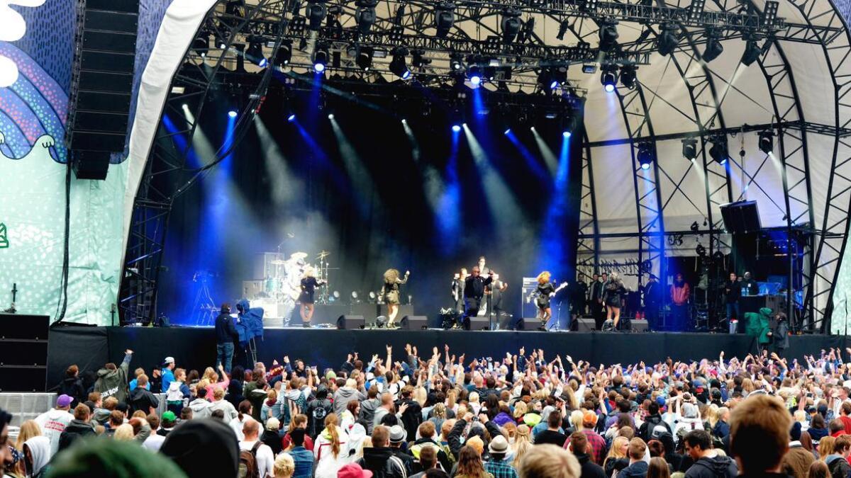 Musikkfestivalen på Hove hadde oppstart i 2007. Nå er det slutt.