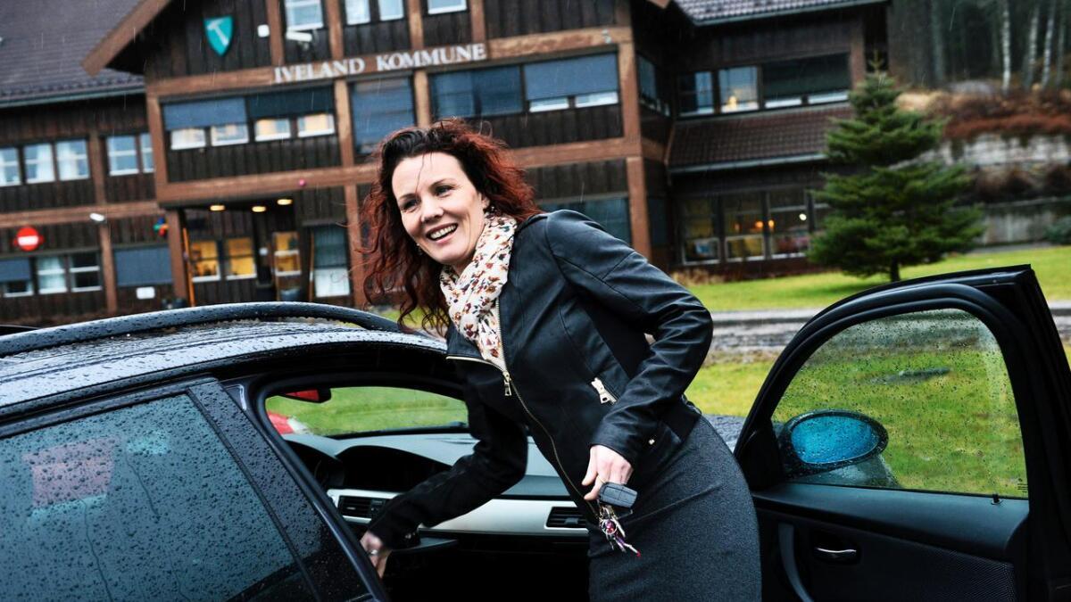 Gro Anita Mykjåland (Sp) fortsetter som ordfører i Iveland i fire nye år.