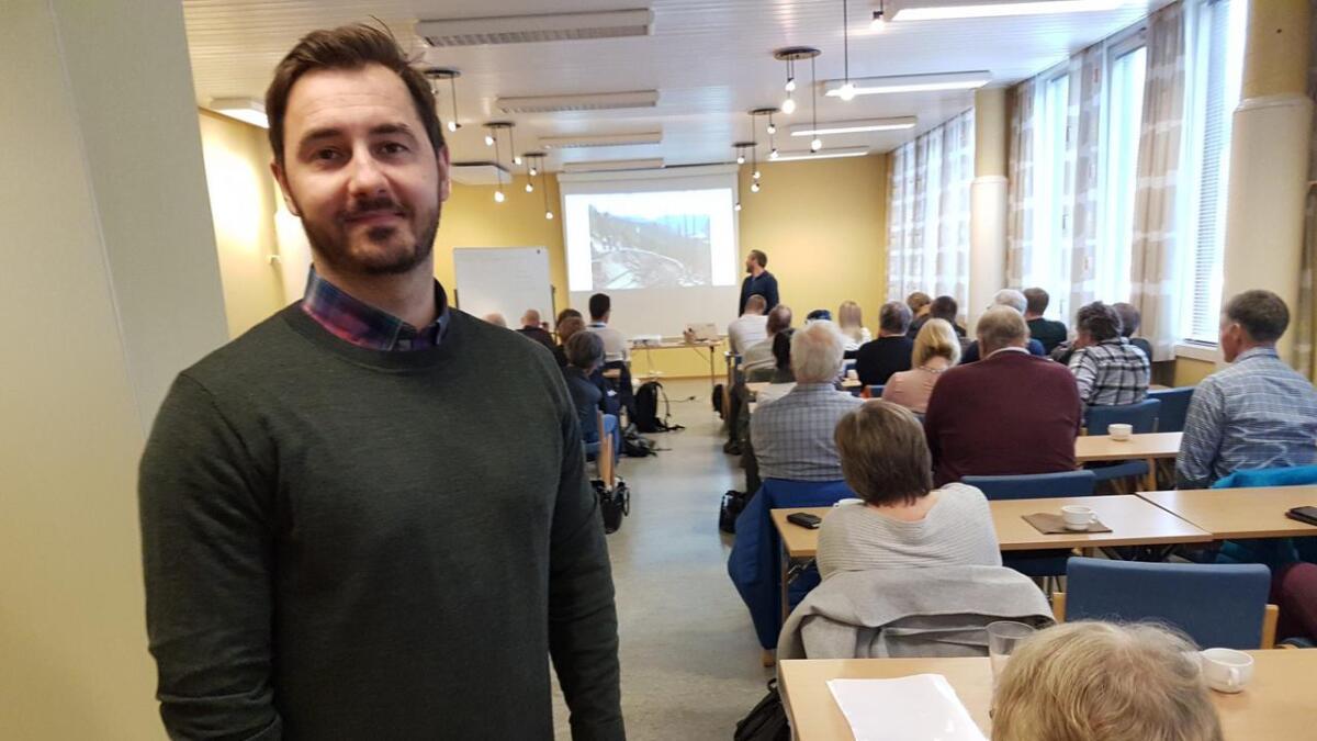 Adnan Helja inviterte næringslivet til ein open dag på Næringstunet. Det slo an.