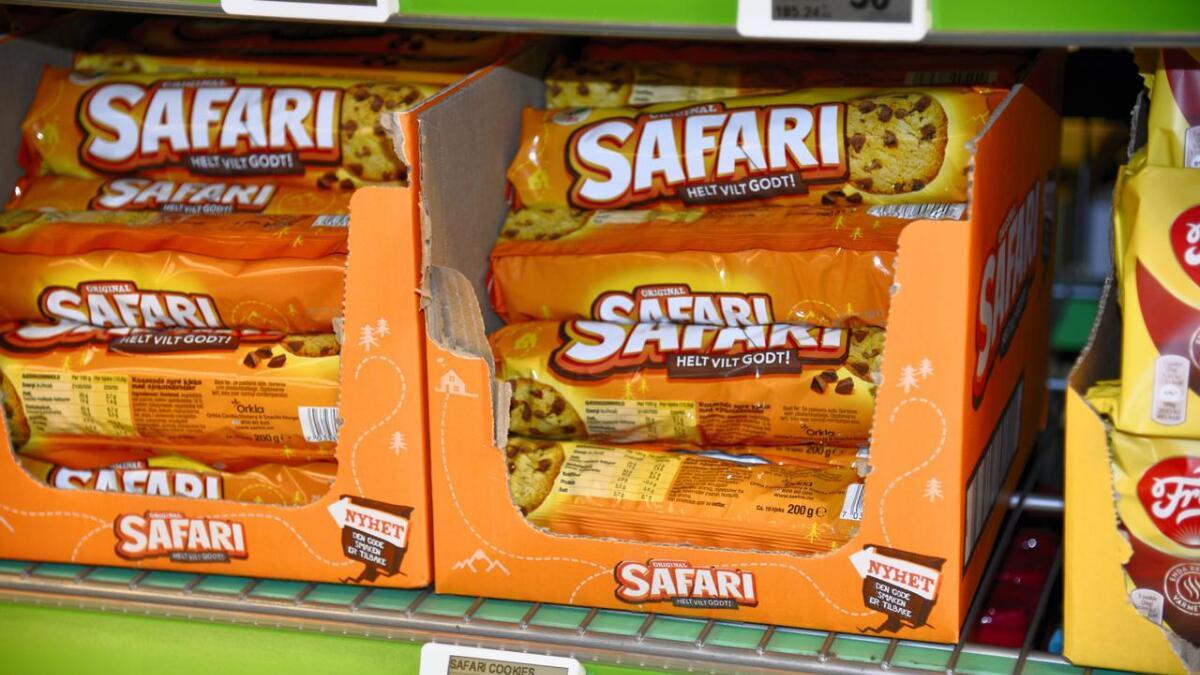 Safari-kjeks til kaffen er ultrabillig i disse dager. Kun ti kroner pakken.