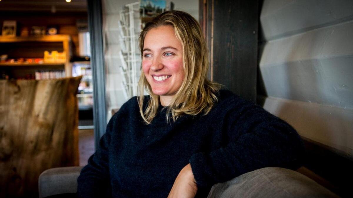 – Det er utruleg herleg å vere tilbake på ski, seier Maria Tviberg.