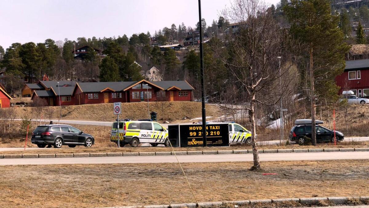 En bilist ble bøtelagt på Hovden for manglende skilter.