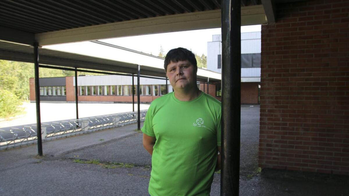 Kristian Leerstang Sørensen vil redde Stridsklev ungdomsskole.