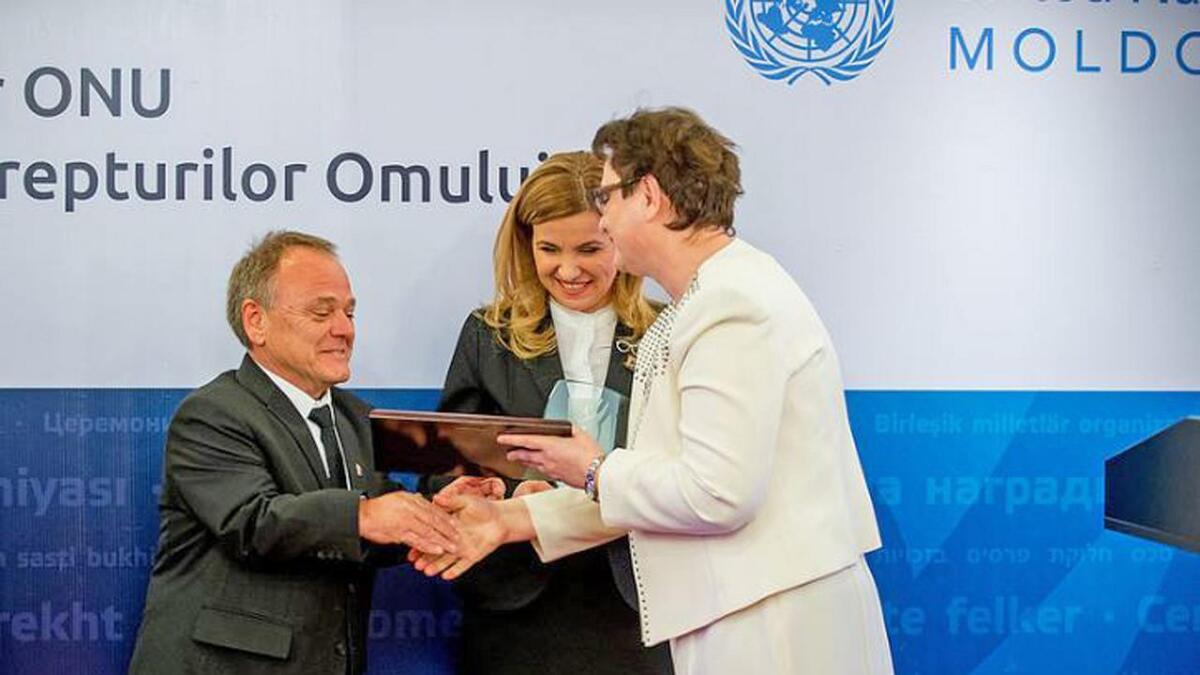 - Dette var svært gledelig, seier Hans Bjørn Bakketeig, leiar for organisasjonen Hjelp Moldova.