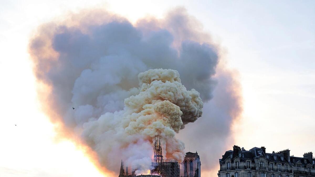 Katedralens hovedkonstruksjon er reddet.