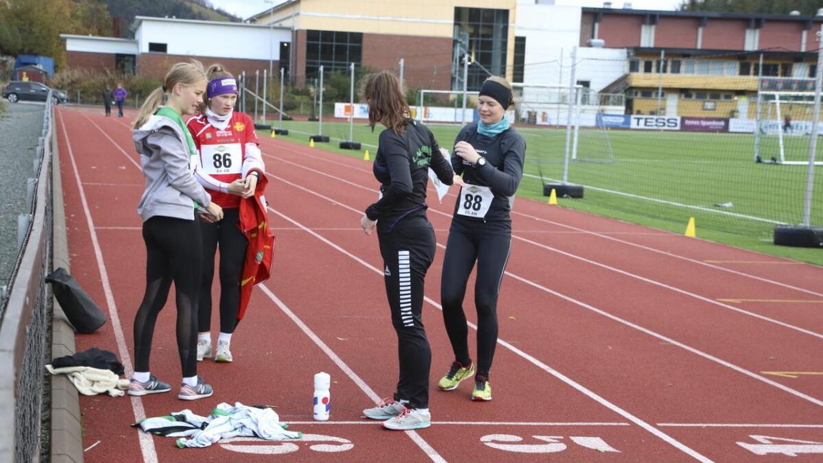 Marie Teige Grov, Tone-Lise Pedersen, Siri Gamst Glittenberg og Merete Helgheim.