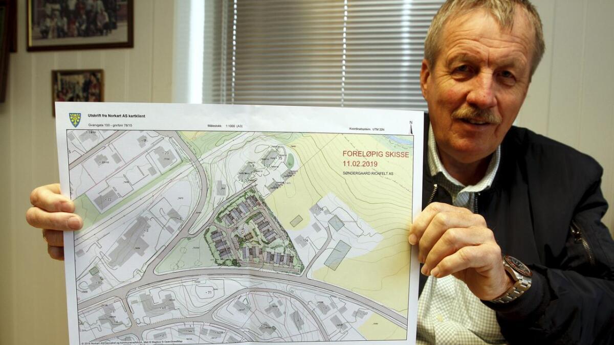 Svein Tore Bakaas har stor tro på prosjektet som kan gjennomføres i flere byggetrinn.