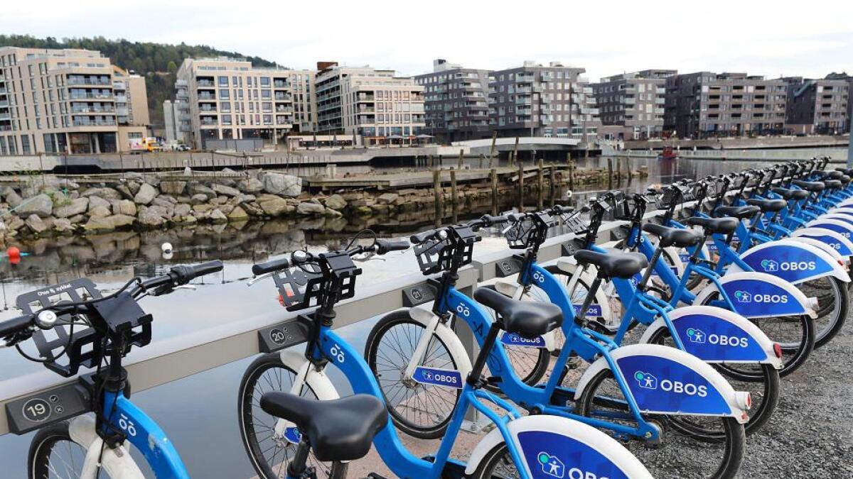 Urban Infrastructure Partner startet med bysykler i Oslo i april 2016.