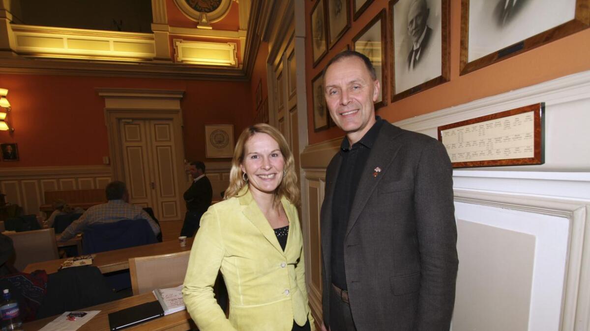 Erik Næs (KrF) fikk flest «slenger»-stemmer i årets kommunevalg i Skien. Hedda Foss Five (Ap) fulgte nærmest.
