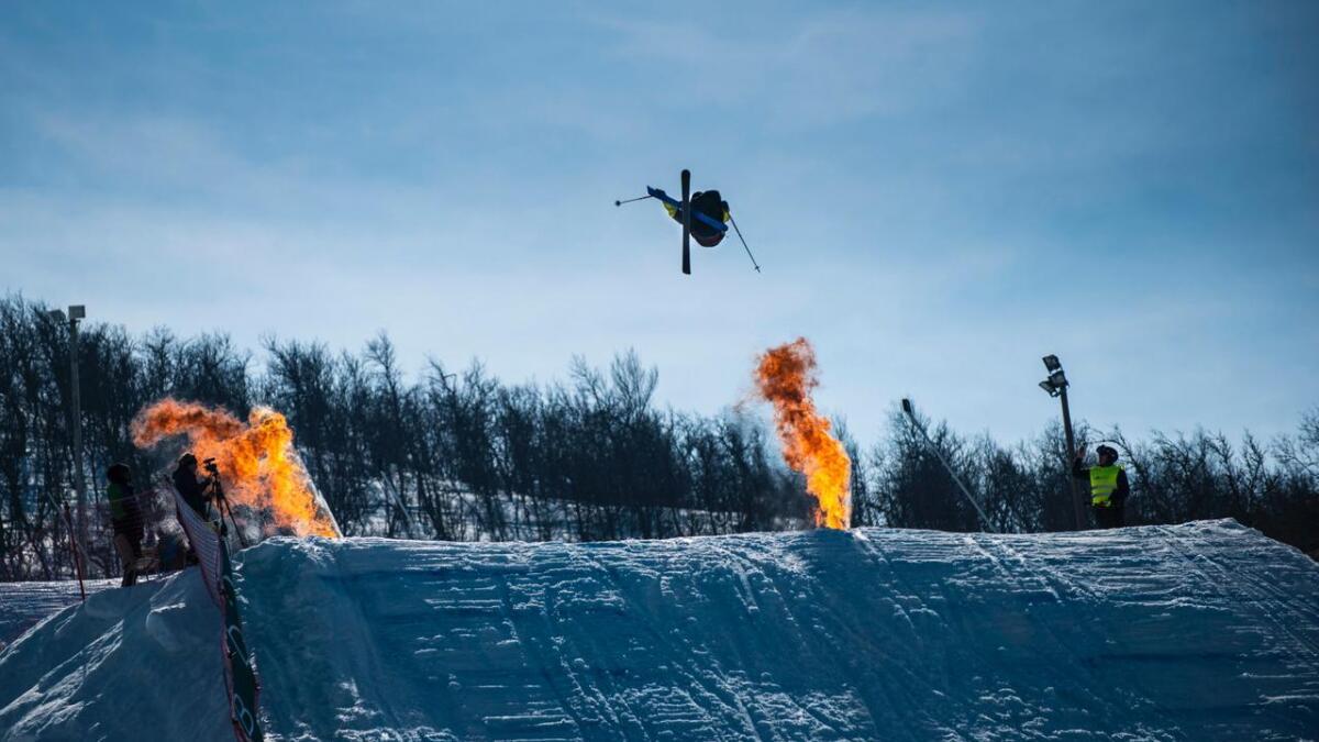 Øystein Bråten tok NM-gull i slopestyleunder meisterskapen på Geilo i vinter.