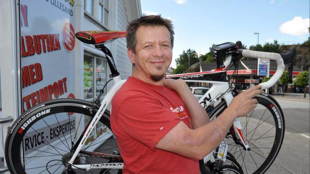 Mario Juric vil lodde interessen for sykkelklubb.