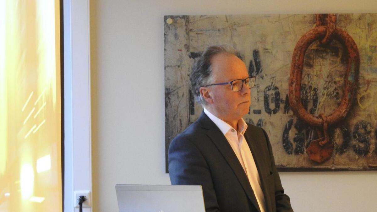 Øyvind Halleraker i Hordfast AS jobbar for å realisera Hordfast så rast som råd.