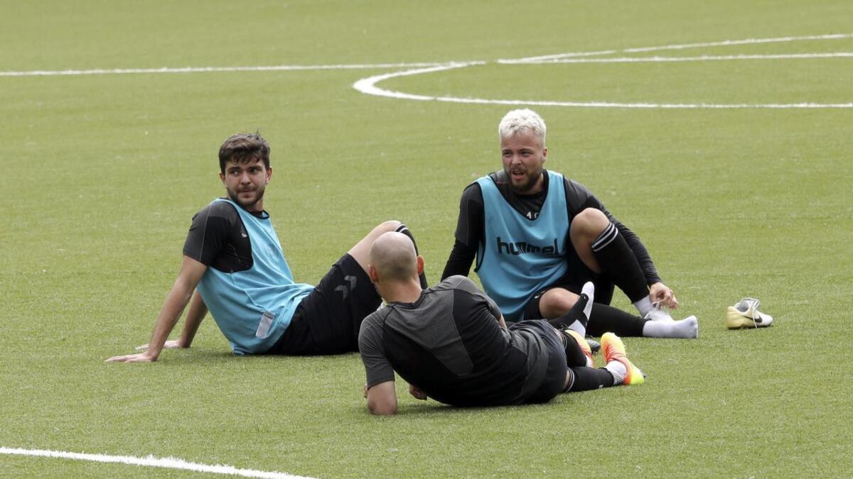 Fredrik Oldrup Jensen og Sander Svendsen venter på en avklaring på egen fotballfremtid.