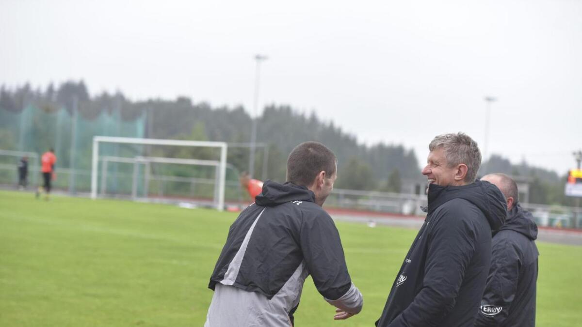 Eirik Bakke og Lars Arne Nilsen.