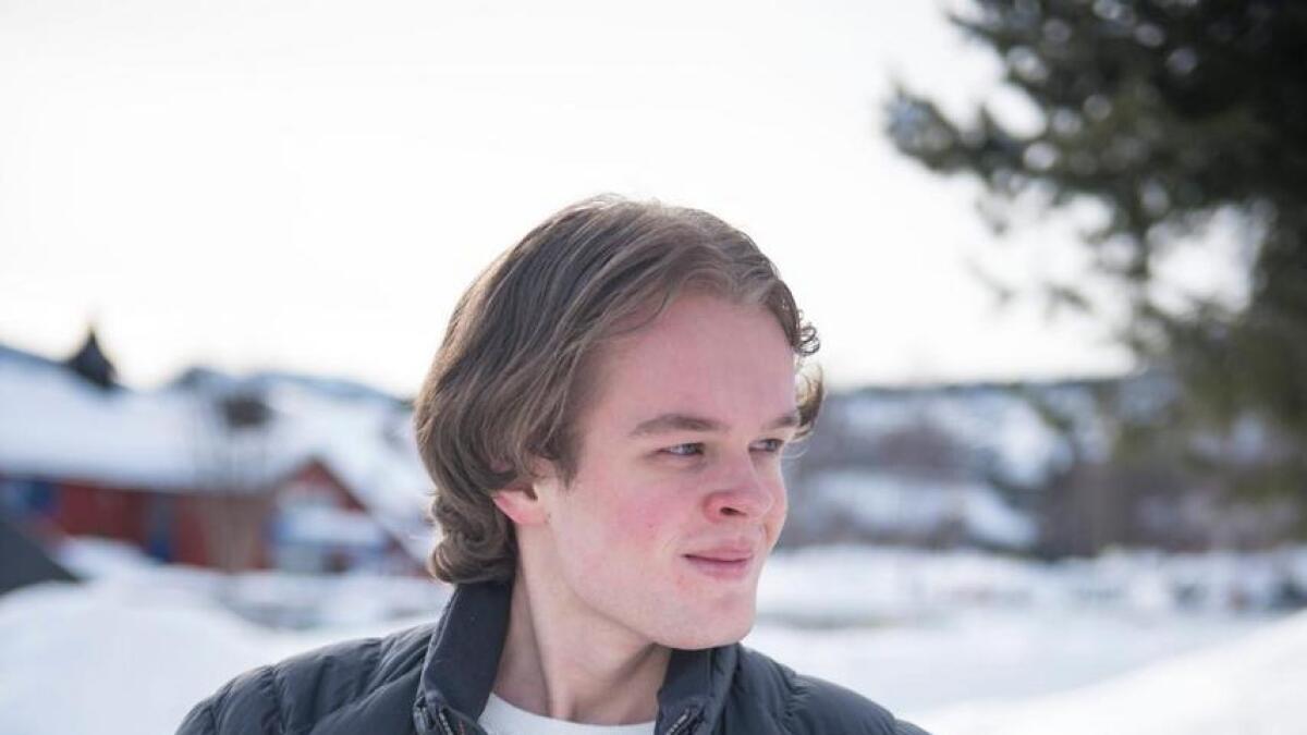 Håkon Lyngås Sataøen frå Geilo.