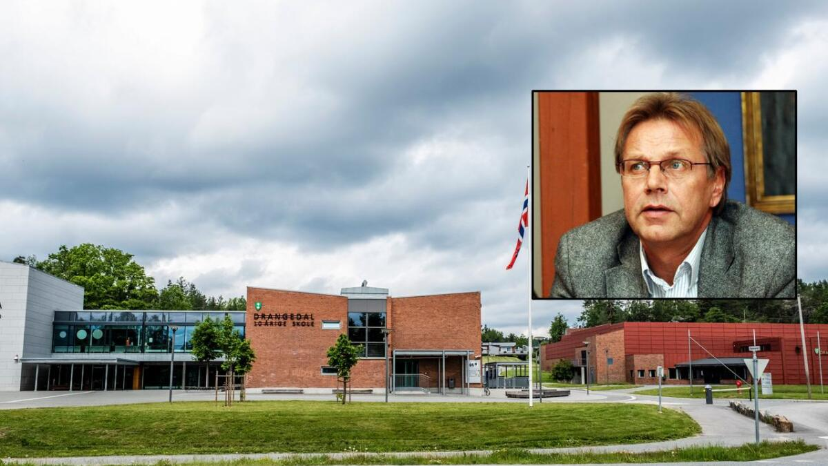 Skolesjef i Drangedal Erling Laland slutter. Nå blir han rektor i Kragerø.