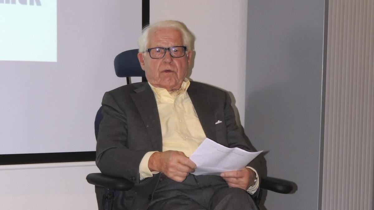 Kenmore-gründer Lai Berg fylte 95 år torsdag.