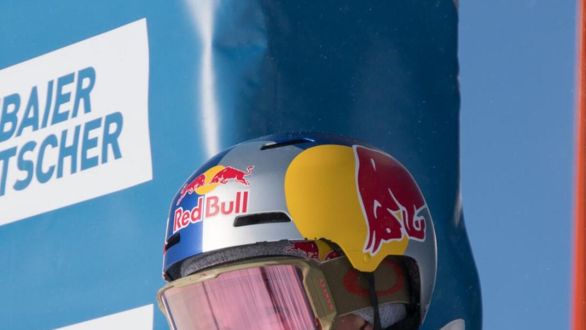 Øystein Bråten køyrde verdscup i Sveits i helga.