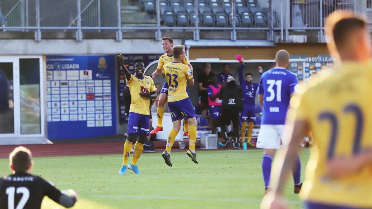 Ole Marius Håbestad satte inn 2-2-målet tre minutter før full tid.