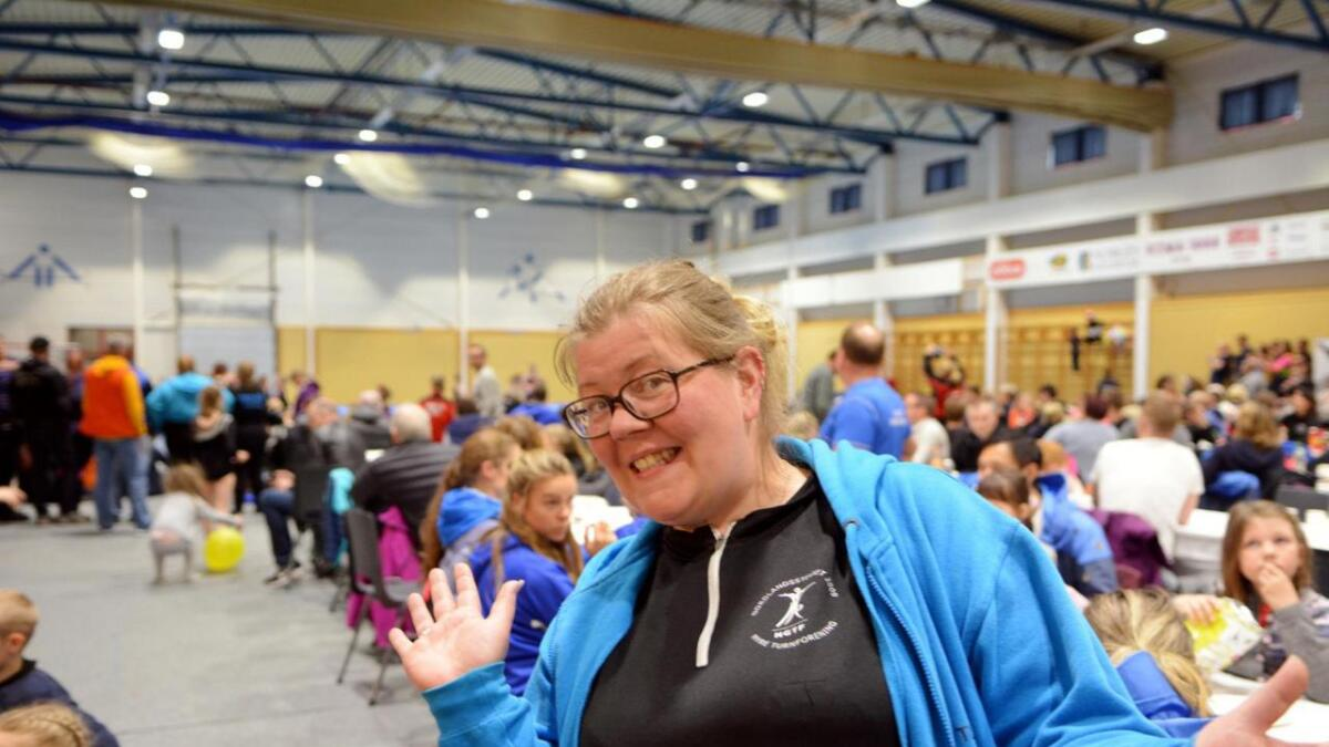 Evelyn Blokhus Johnsen er storfornøyd med helga.