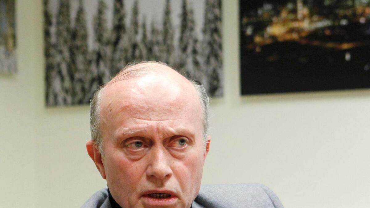 NHO-direktør Nikolai Boye.