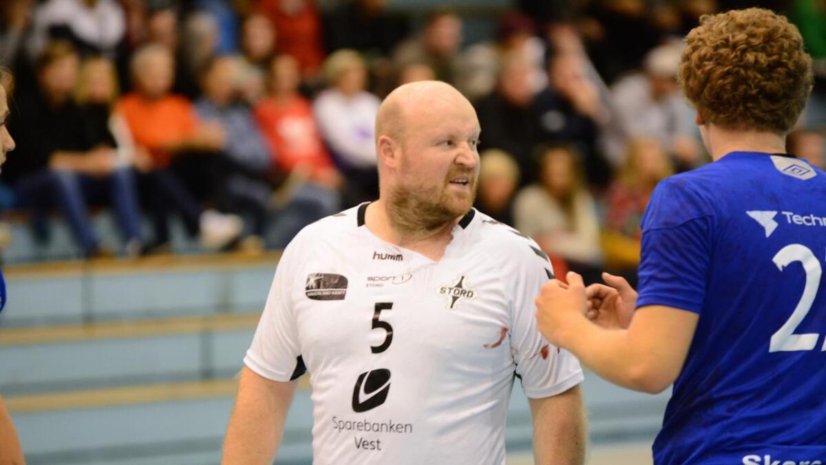 Nils Kristian Blom var ein viktig bidragsytar då Stord sikra seg sesongens første siger.