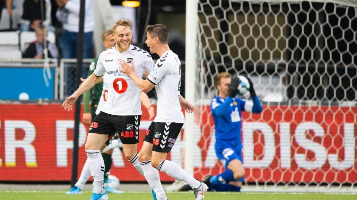 Mange var gode, Fredrik Nordkvelle ble den store helten da Odd slo Bodø/Glimt 3–1 i toppkampen. Alle