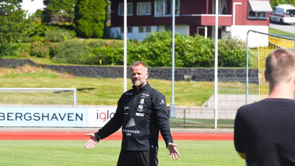 Arne Sandstø og Jerv er klare til å underholde på Levermyr når Sogndal kommer på besøk søndag.