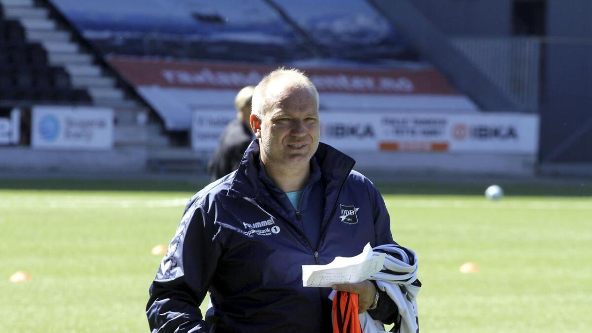 Dag-Eilev Fagermo er forberedt på at Åråsen ikke egner seg til typisk Odd-fotball.