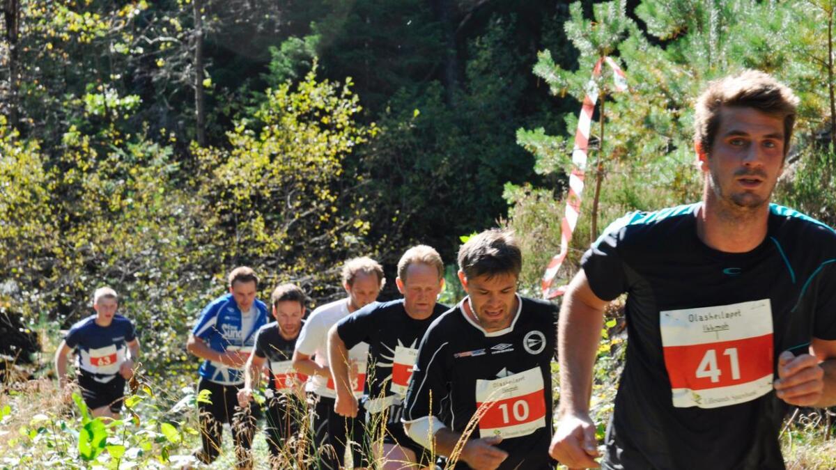 Det er i år fjerde gang Olasheiløpet arrangeres.