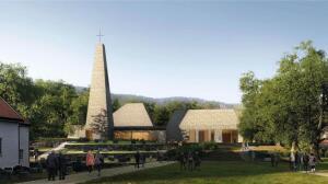 Kirken vil lage nytt uteområde av synketømmer