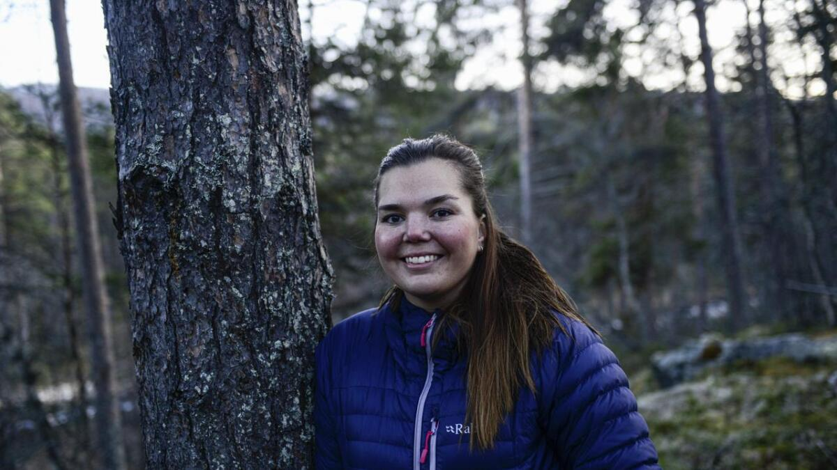 Maja Tvedt vann Startupp Hallingdal, og får 50.000 kr for sigeren.