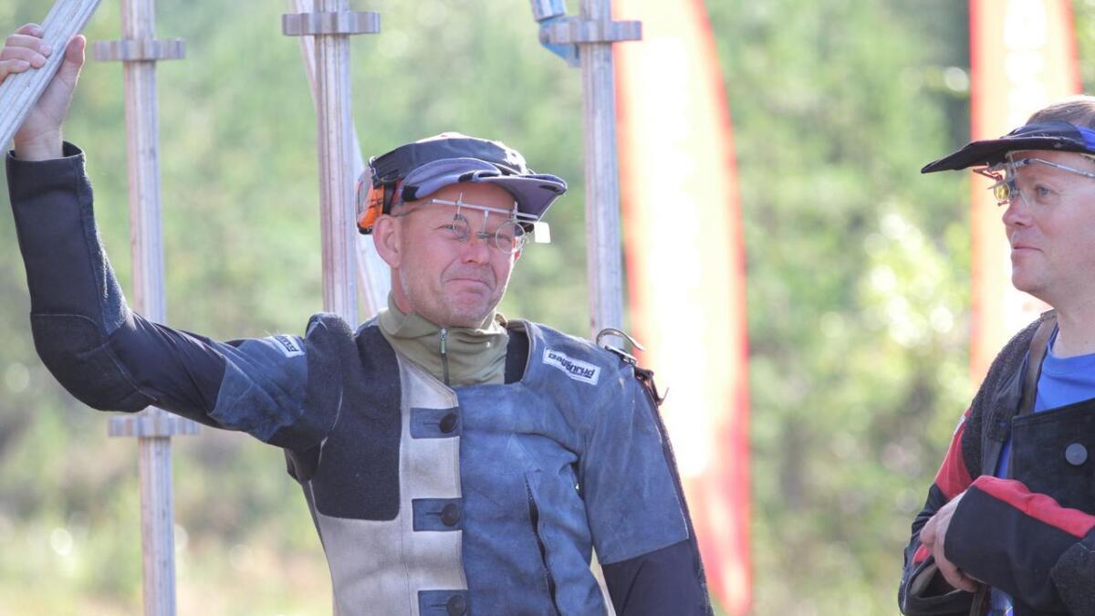 Lars Johan Skjeggedal ligger på skive 5 i feltkongelaget.