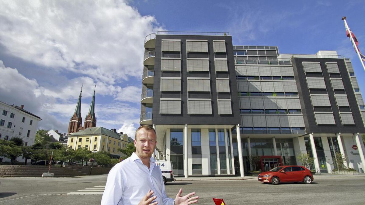 – Dette bidrar til å stadfeste Skien som regionhovedstad for Vestfold og Telemark, sier Sven Tore Løkslid.