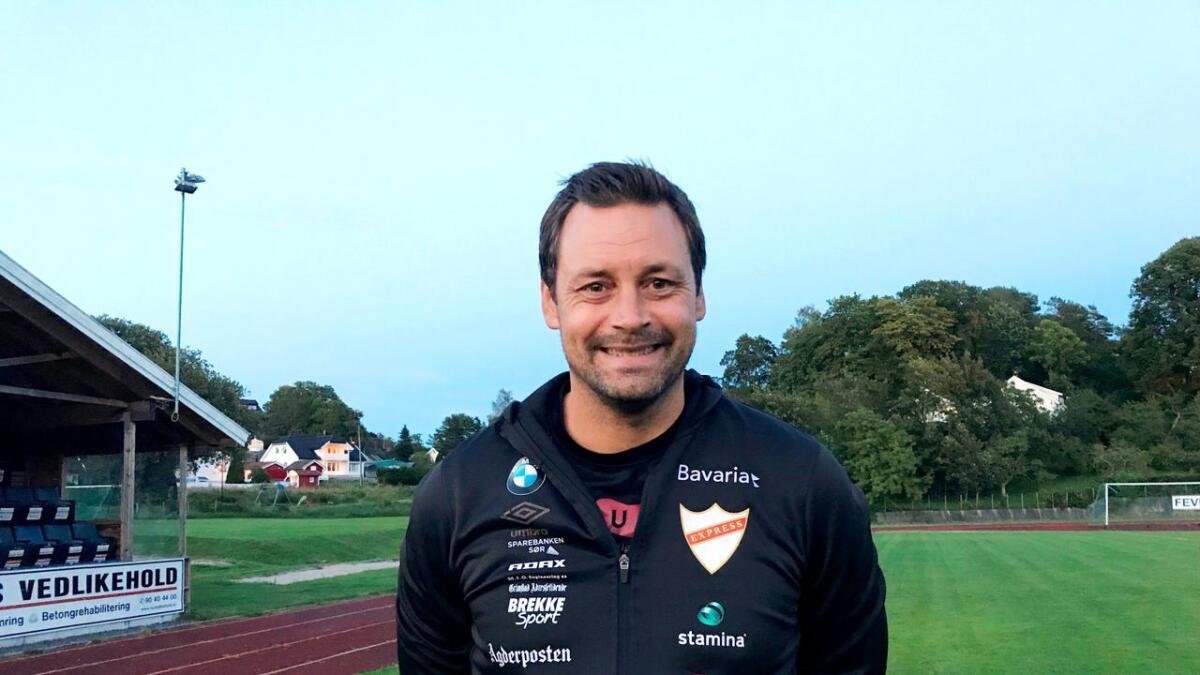 Markus Ringberg stortrives på Fevik og i Express.