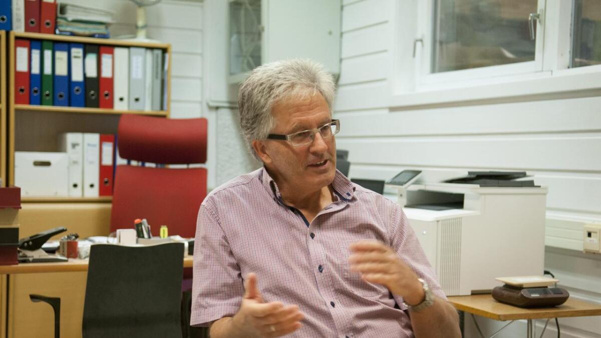 Robert Kalstad, daglig leder i Glomma Industrier, er fornøyd med utviklingen.