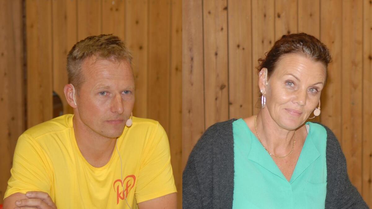 Terje Møkjåland (Krf) blir varaordførar, og Gro Anita Mykjåland (Sp) held fram som ordførar i Iveland kommune.